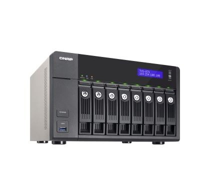 QNAP Turbo vNAS TVS-871 8 x Total Bays NAS Server - Tower