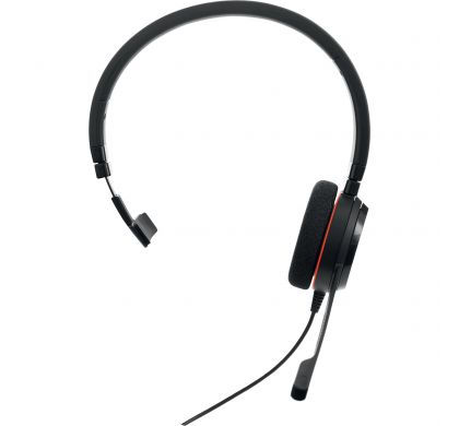 JABRA EVOLVE 20 Wired Mono Headset - Over-the-head - Supra-aural FrontMaximum