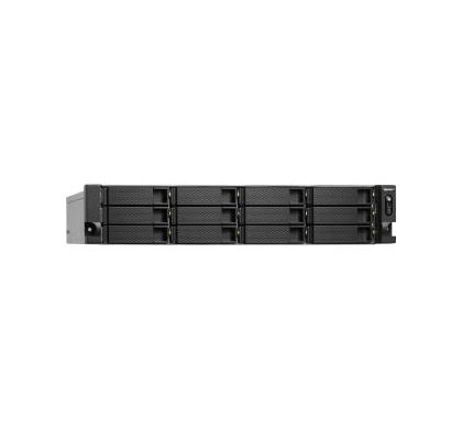 QNAP Turbo NAS TS-1263U 12 x Total Bays NAS Server - 2U - Rack-mountable