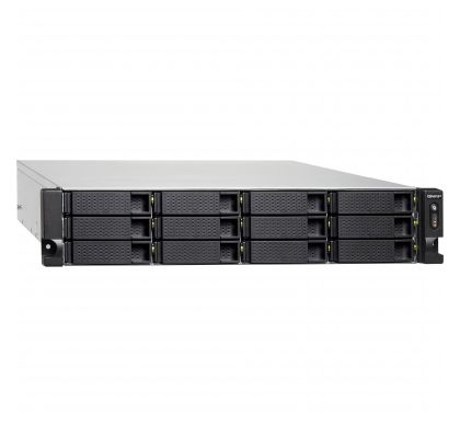 QNAP Turbo NAS TS-1263U 12 x Total Bays NAS Server - 2U - Rack-mountable RightMaximum