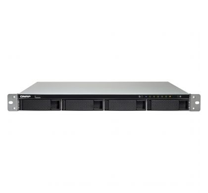 QNAP Turbo NAS TS-463U 4 x Total Bays NAS Server - 1U - Rack-mountable FrontMaximum
