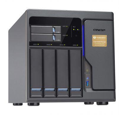 QNAP Turbo vNAS TVS-682T-I3-8G 6 x Total Bays SAN/NAS Server - Tower