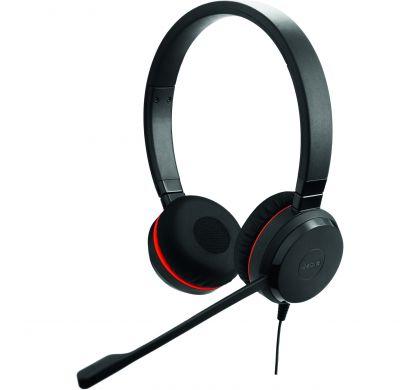 JABRA EVOLVE 30 II UC Stereo Wired Stereo Headset - Over-the-head - Supra-aural - Black