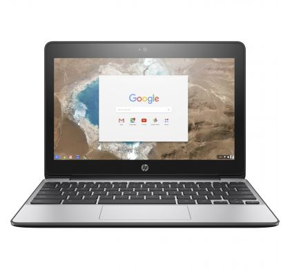 "HP Chromebook 11 G5 29.5 cm (11.6"") LCD Chromebook - Intel Celeron N3060 Dual-core (2 Core) 1.60 GHz - 2 GB LPDDR3 - 16 GB Flash Memory - Chrome OS 64-bit - 1366 x 768"