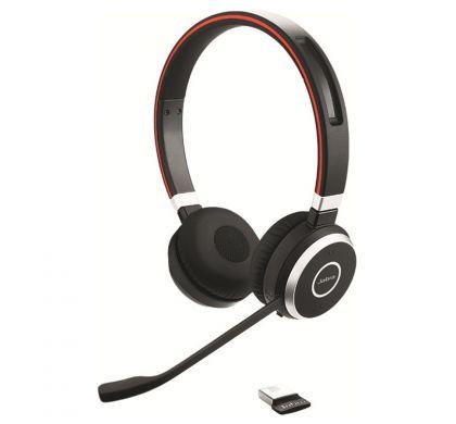 JABRA EVOLVE 65 UC Wireless Bluetooth Stereo Headset - Over-the-head - Supra-aural