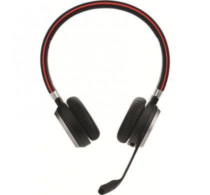 JABRA EVOLVE 65 UC Wireless Bluetooth Stereo Headset - Over-the-head - Supra-aural FrontMaximum