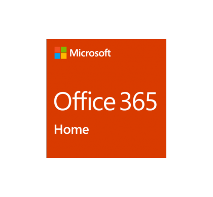 Microsoft Office 365 Home, 32/64-bit - Subscription - 1 Licence, 5 Users, Up to 25 devices