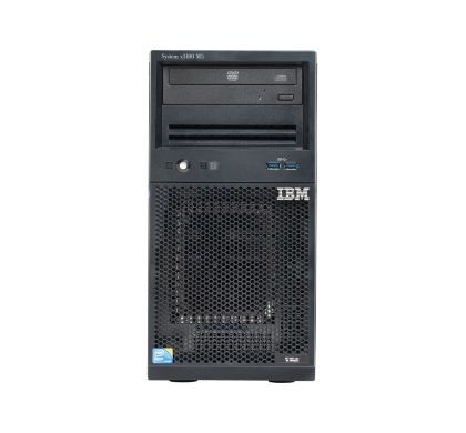 Lenovo System x x3100 M5 5457B3M 4U Mini-tower Server - 1 x Intel Xeon E3-1220 v3 Quad-core (4 Core) 3.10 GHz