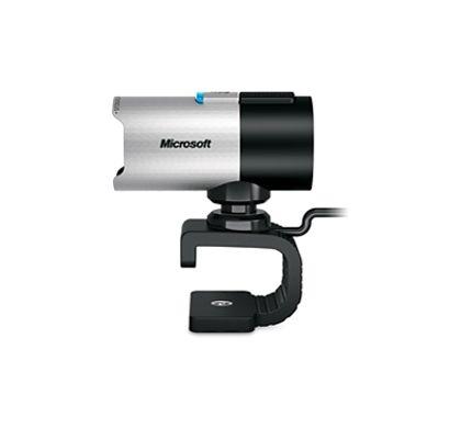 Microsoft LifeCam 5WH-00002 Webcam - USB 2.0 Left
