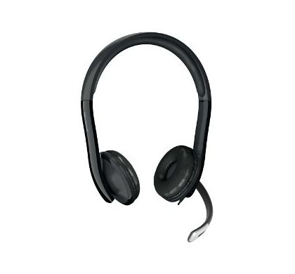 Microsoft LifeChat LX-6000 Wired Stereo Headset - Over-the-head - Supra-aural Front