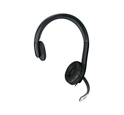 Microsoft LifeChat LX-4000 Wired Mono Headset - Over-the-head - Semi-open Left
