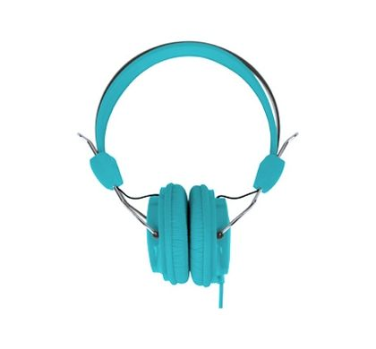 LASER Wired Stereo Headphone - Over-the-head - Ear-cup - Blue Front