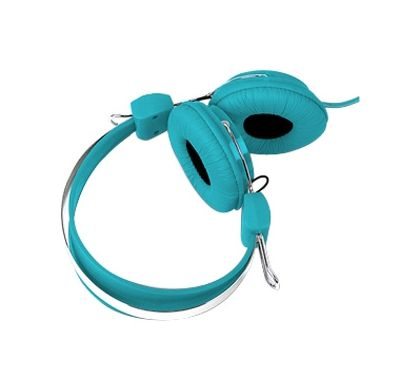 LASER Wired Stereo Headphone - Over-the-head - Ear-cup - Blue Top