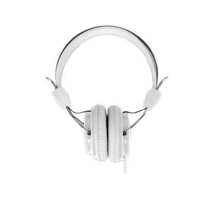 LASER Wired Stereo Headphone - Over-the-head - White Front