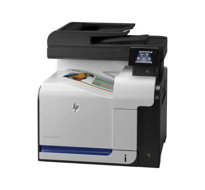 HP LaserJet Pro 500 M570DW Laser Multifunction Printer - Colour - Plain Paper Print - Desktop Left