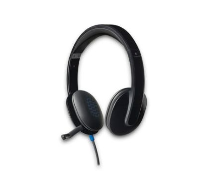LOGITECH H540 Wired Stereo Headset - Over-the-head - Ear-cup - Black Right