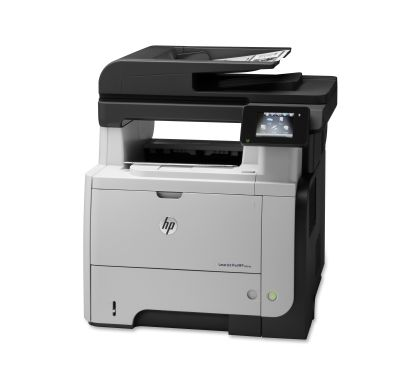HP LaserJet Pro M521DN Laser Multifunction Printer - Monochrome - Plain Paper Print - Desktop Left
