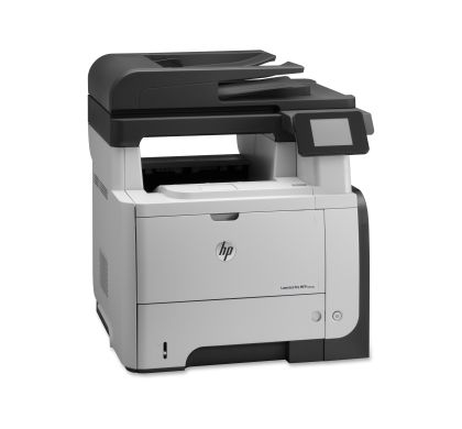 HP LaserJet Pro M521DN Laser Multifunction Printer - Monochrome - Plain Paper Print - Desktop Right