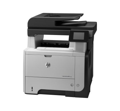 HP LaserJet Pro M521DW Laser Multifunction Printer - Monochrome - Plain Paper Print - Desktop Left