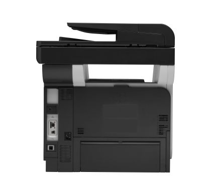 HP LaserJet Pro M521DW Laser Multifunction Printer - Monochrome - Plain Paper Print - Desktop Rear