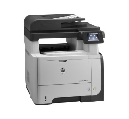 HP LaserJet Pro M521DW Laser Multifunction Printer - Monochrome - Plain Paper Print - Desktop Right
