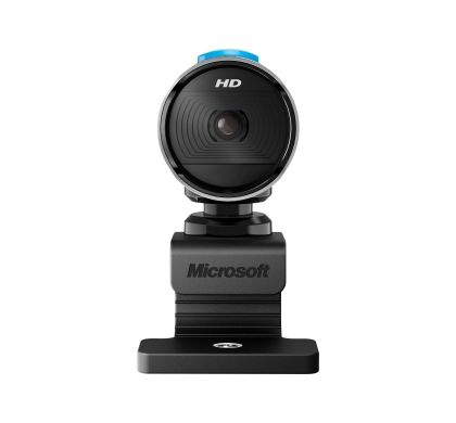 Microsoft LifeCam Webcam - 30 fps - Silver, Black - USB 2.0 Front