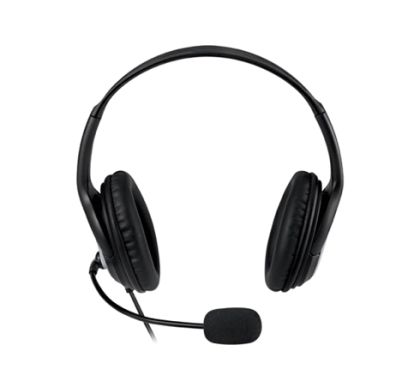 Microsoft LifeChat LX-3000 Wired Stereo Headset - Over-the-head - Circumaural Front
