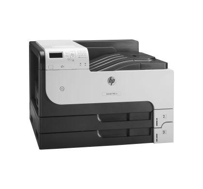 HP LaserJet 700 M712N Laser Printer - Monochrome - 1200 x 1200 dpi Print - Plain Paper Print - Desktop Right