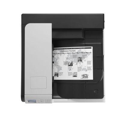 HP LaserJet 700 M712N Laser Printer - Monochrome - 1200 x 1200 dpi Print - Plain Paper Print - Desktop Top