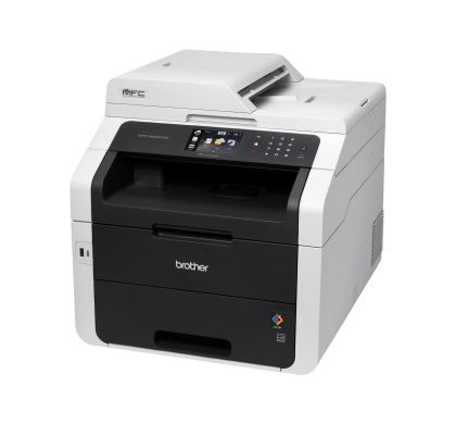 Brother MFC-9330CDW LED Multifunction Printer - Colour - Plain Paper Print - Desktop Left