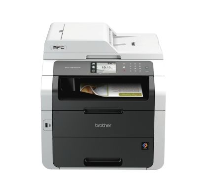 Brother MFC-9340CDW LED Multifunction Printer - Colour - Plain Paper Print - Desktop Front