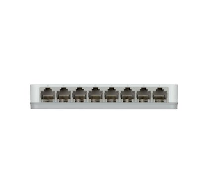D-LINK DGS-1008A 8 Ports Ethernet Switch Rear