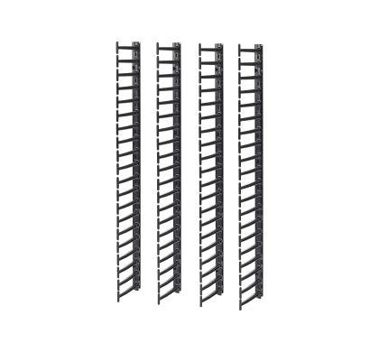 APC Cable Pass-through - Black - 4 Pack