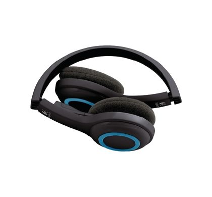 LOGITECH H600 Wireless Stereo Headset - Over-the-head - Ear-cup Top