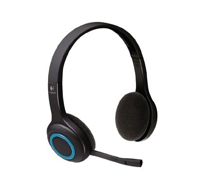LOGITECH H600 Wireless Stereo Headset - Over-the-head - Ear-cup Right