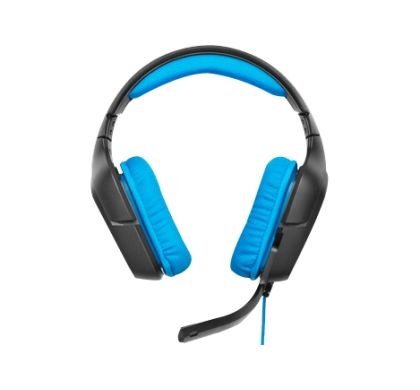 LOGITECH G430 Wired 40 mm Surround Headset - Over-the-head - Circumaural Front