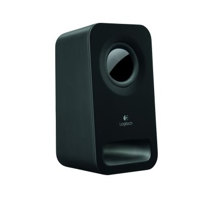 LOGITECH Z150 2.0 Speaker System - Midnight Black Right