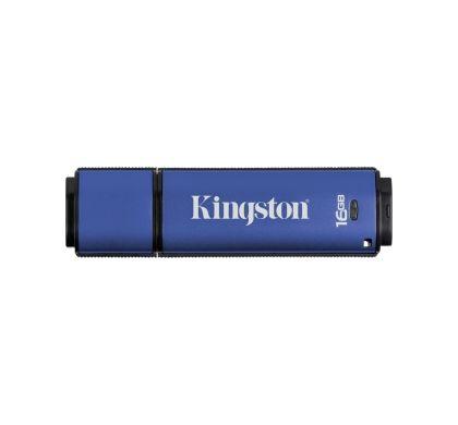 Kingston DataTraveler Vault 16 GB USB 3.0 Flash Drive Top