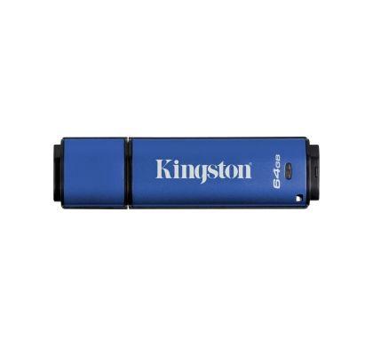 Kingston DataTraveler Vault 64 GB USB 3.0 Flash Drive Top