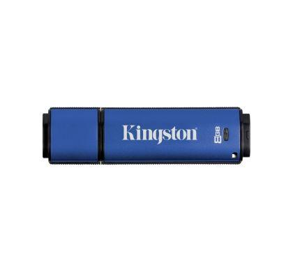 Kingston DataTraveler Vault 8 GB USB 3.0 Flash Drive Top