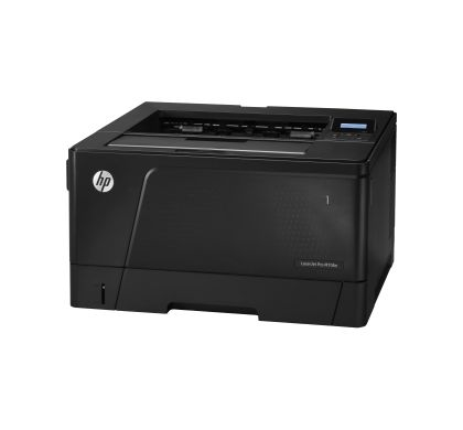 HP LaserJet Pro M706N Laser Printer - Monochrome - 1200 x 1200 dpi Print - Plain Paper Print - Desktop Left