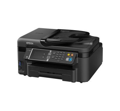 Epson WorkForce WF-3620 Inkjet Multifunction Printer - Colour - Photo Print - Desktop Left