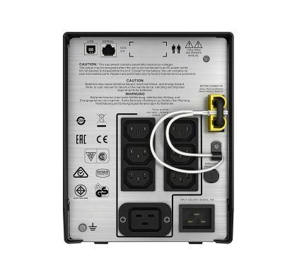 APC Smart-UPS Line-interactive UPS - 2000 VA/1300 WTower Rear
