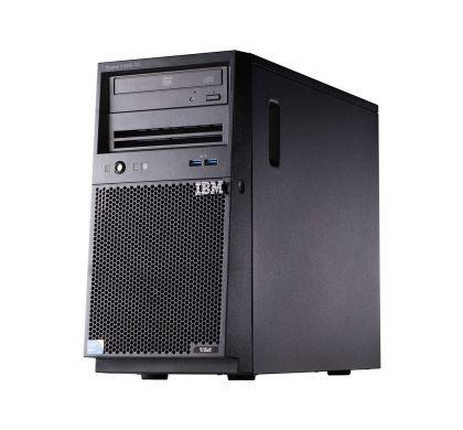 Lenovo System x x3100 M5 5457B3M 4U Mini-tower Server - 1 x Intel Xeon E3-1220 v3 Quad-core (4 Core) 3.10 GHz Left