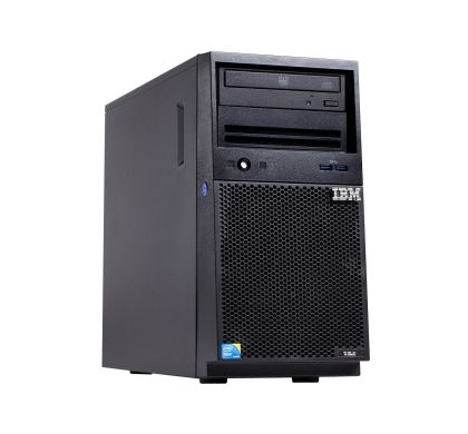 Lenovo System x x3100 M5 5457B3M 4U Mini-tower Server - 1 x Intel Xeon E3-1220 v3 Quad-core (4 Core) 3.10 GHz Right