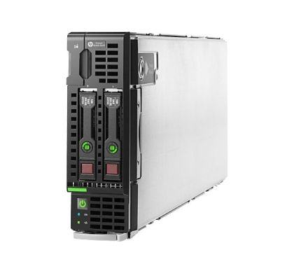 HP ProLiant BL460c G9 Blade Server - 1 x Intel Xeon E5-2609 v3 Hexa-core (6 Core) 1.90 GHz Left