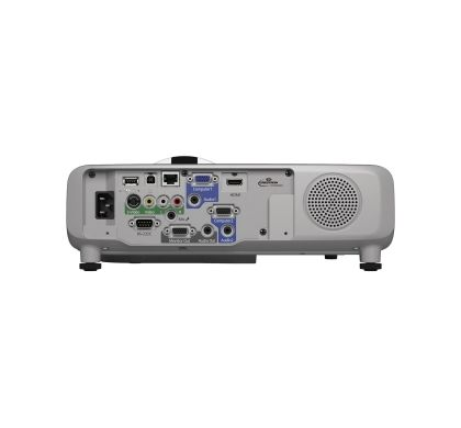 Epson EB-520 LCD Projector - 720p - HDTV - 4:3 Rear
