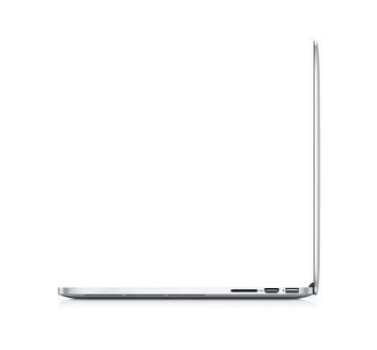 "Apple MacBook Pro MJLQ2X/A 39.1 cm (15.4"") (Retina Display, In-plane Switching (IPS) Technology) Notebook - Intel Core i7 Quad-core (4 Core) 2.20 GHz Left"