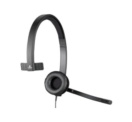 LOGITECH H570e Wired Stereo Headset - Over-the-head - Supra-aural Bottom