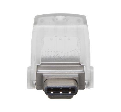 KINGSTON DataTraveler microDuo 3C 32 GB USB 3.1 Flash Drive Front